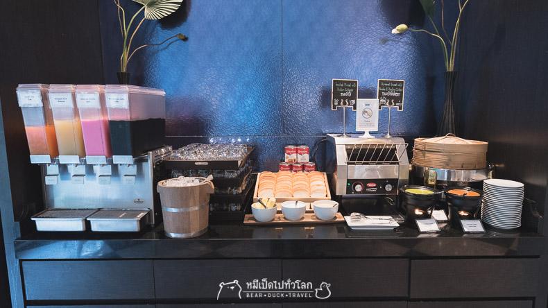 รีวิว, ร้านอาหาร, บุฟเฟ่ต์, โรงแรม, ข้าวต้ม, blue spice