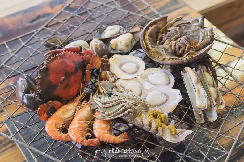 พัทยา, รีวิว, ร้านอาหาร, อาหารทะเล, บุฟเฟ่, บุฟเฟ่ต์