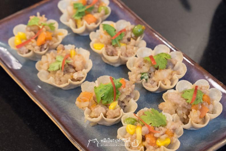 รีวิว ร้านอาหาร อาหารไทย กรุงเทพ ราชประสงค์ กระทงทอง