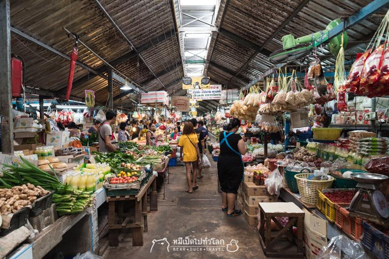 รีวิว มีนบุรี ตลาดมีนบุรี ตลาดเก่า ตลาดสด ร้านอาหาร