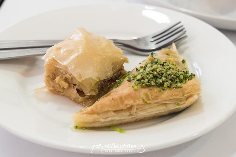 รีวิว ขนมหวาน ร้านอาหาร เลบานอน อิสลาม มุสลิม ฮาลาล