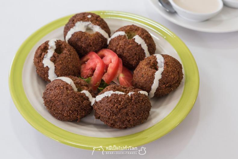 รีวิว ร้านอาหาร เลบานอน อิสลาม มุสลิม ฮาลาล ขนม