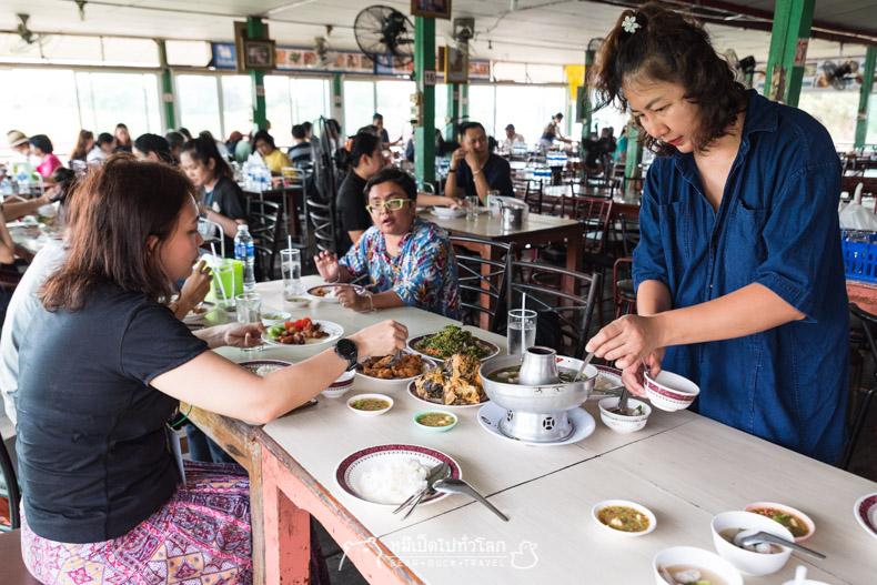 เที่ยว กิน ไทย ภาคกลาง ลพบุรี อ่างทอง อยุธยา pantip ททท ร้าน อาหาร กุ้งเผาทองชุบ