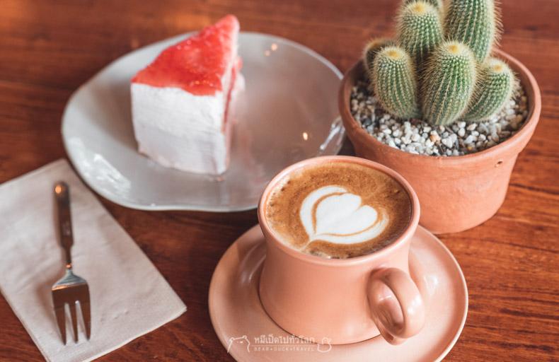 รีวิว กิน อาหาร เที่ยว หมีเป็ด เชียงราย คุก เรือนจำ ดอยฮาง กาแฟ เค้ก