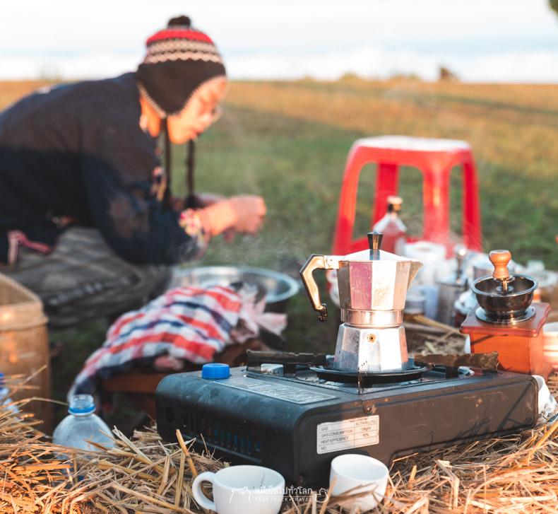 รีวิว กิน อาหาร เที่ยว หมีเป็ด เชียงราย ดอย ภูเขา ธรรมชาติ ดอยกาดผี ชมภู โฮมสเตย์
