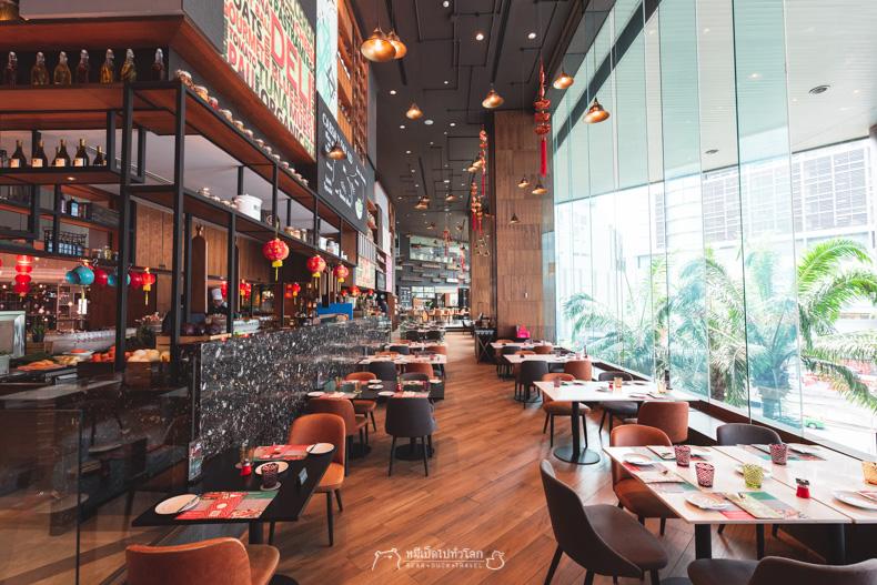 รีวิว กิน เที่ยว ร้านอาหาร หมีเป็ด บุฟเฟ่ต์ บุฟเฟ่ buffet โรงแรม อาหารทะเล อาหารจีน อาหารฝรั่ง แกะ ล็อบสเตอร์ ฟัวกรา ซีฟู้ด