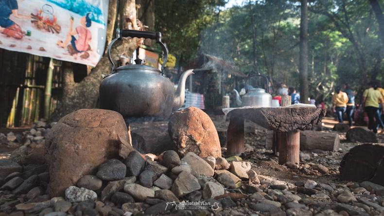 รีวิว เที่ยว กิน ร้าน อาหาร หมีเป็ด ตลาด ราชบุรี โอ๊ะป่อย โคยกี๊ กาดคูบัว ตลาดน้ำหลัก 5