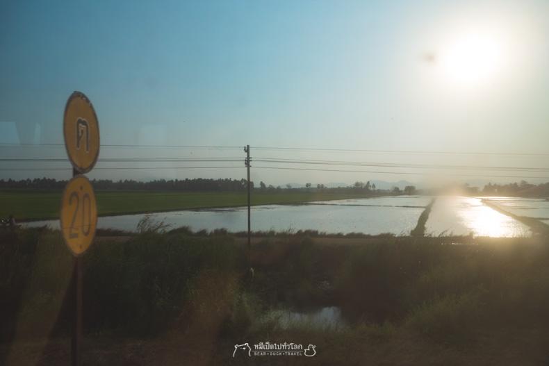 รีวิว เที่ยว เพชรบุรี รถไฟ