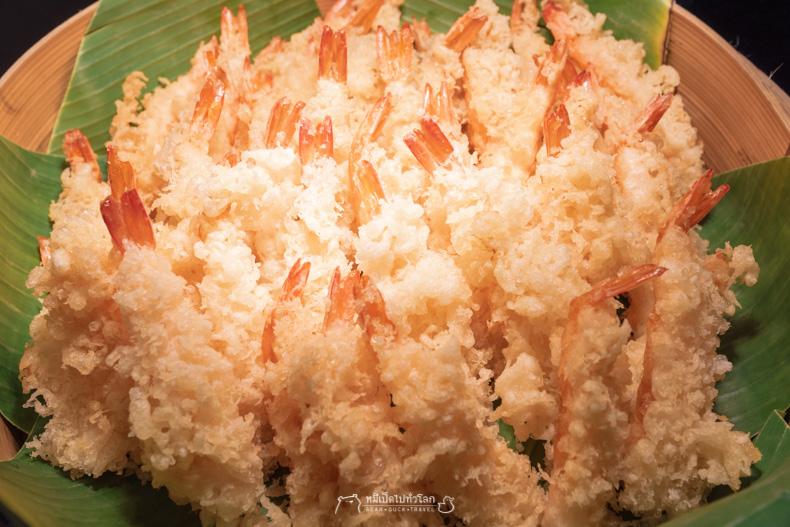 รีวิว อาหาร บุฟเฟ่ต์ ทะเล ซีฟู้ด เท็มปูระ อาหารญี่ปุ่น