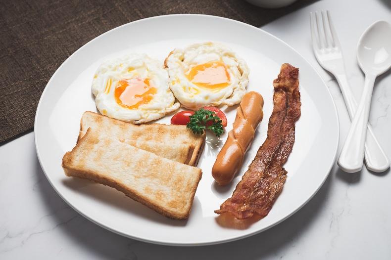 ชุดอาหารเช้าอเมริกัน (American Breakfast)