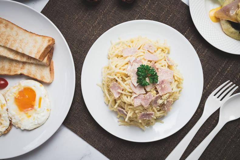 สปาเก็ตตี้คาโบนาร่า (Spaghetti Carbonara)