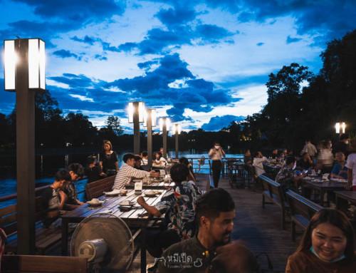 8 ที่เที่ยว คาเฟ่ ร้านอาหาร ไหว้พระ กาญจนบุรี