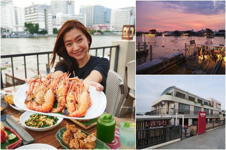 รีวิว ร้านเสวย อาหารไทย ท่ามหาราช กินกุ้งเผาอยุธยา ริมแม่น้ำเจ้าพระยา