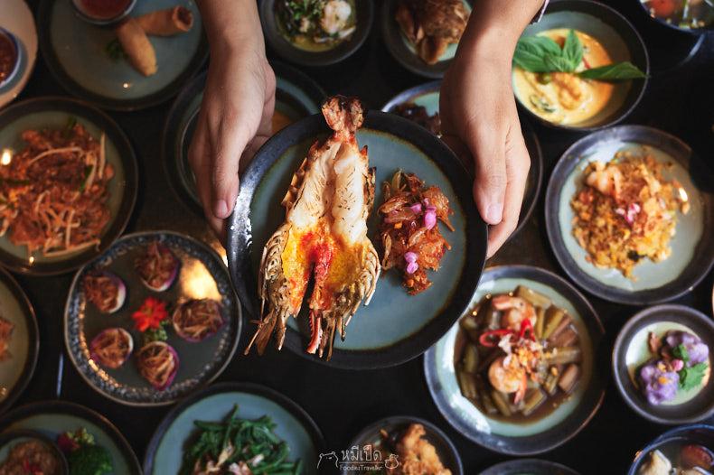 รีวิว บุฟเฟต์อาหารไทย The House of Smooth Curry กุ้งแม่น้ำไม่อั้น โรงแรม The Athenee 1299
