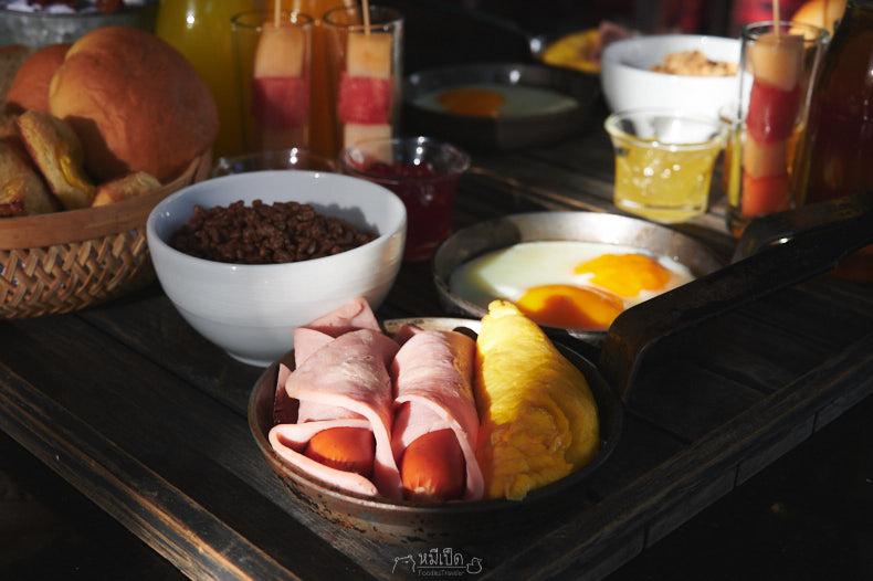 ชุดอาหารเช้า Breakfast In Bed