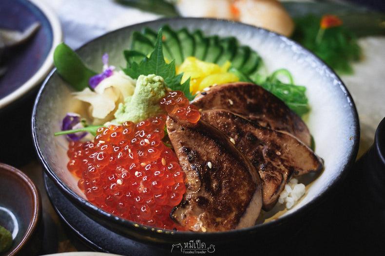 Foie Gras & Ikura Rice Bowl
