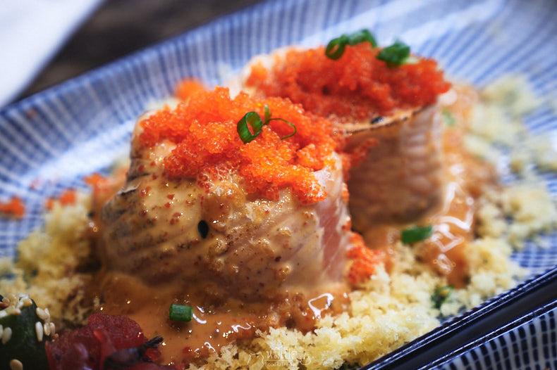Spicy Salmon Lava Roll