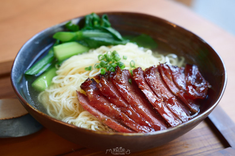 BBQ pork with noodle