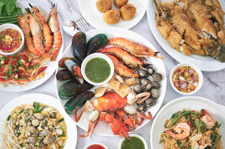รีวิว ร้านกวงทะเลเผา รัชดา อาหารทะเลอร่อยๆ เดลิเวอรี่ ราคาไม่แพง