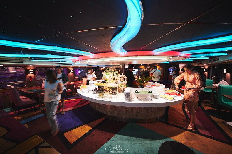 ดินเนอร์บุฟเฟต์ Wonderful Pearl Cruise