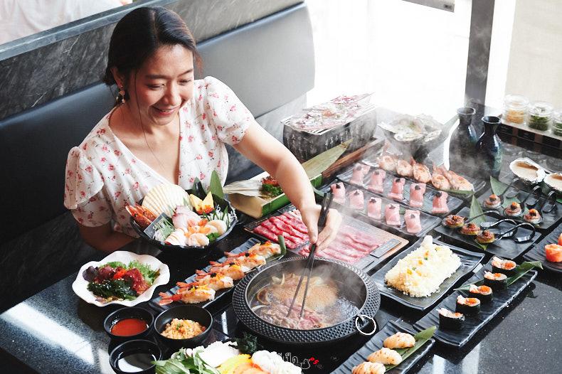 รีวิว Tadaima (ทาไดมะ) บุฟเฟต์ชาบู เนื้อวากิว ซาชิมิ ซูชิ ร้านนี้ดีมั๊ยน้า
