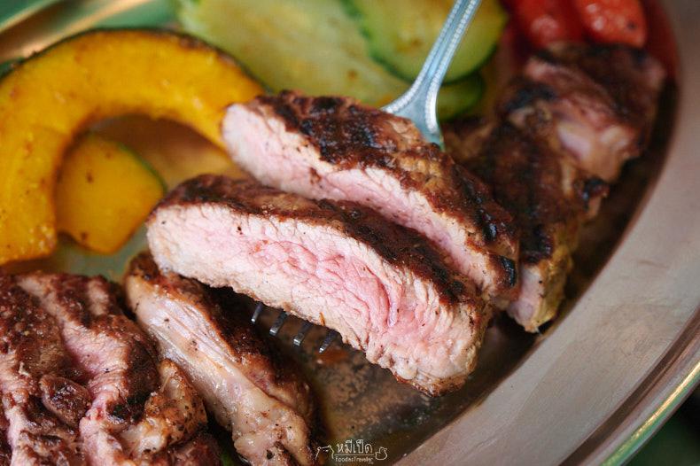 รีวิว รสดีเด็ด The Steakhouse บุฟเฟต์สเต็กเนื้อ 850.-