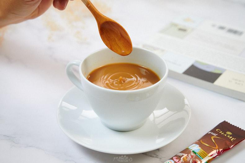 รีวิว ชาเม่ ซาย กาแฟแคลอรี่ต่ำ กระตุ้นระบบการเผาผลาญ