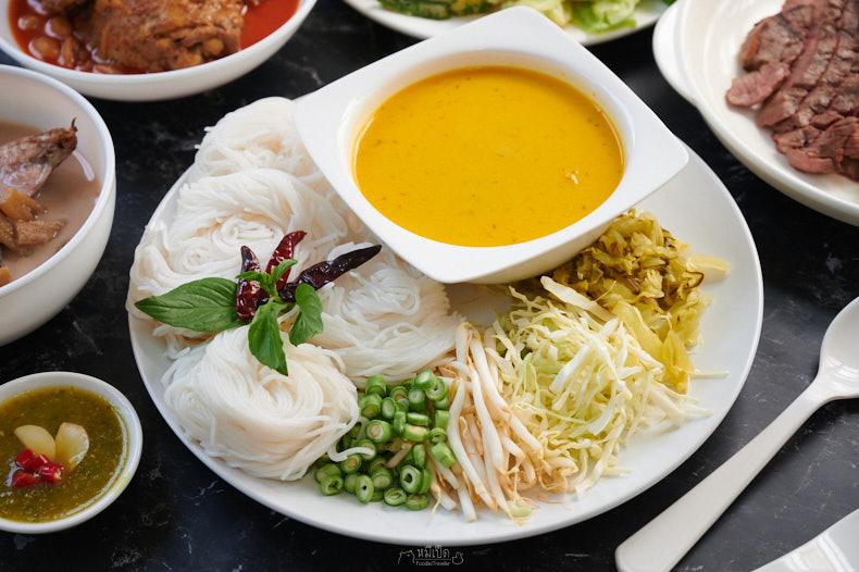 ชุดขนมจีนน้ำยาปู