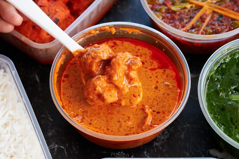 แกงกุ้งใส่กะทิ Prawn Goan Curry