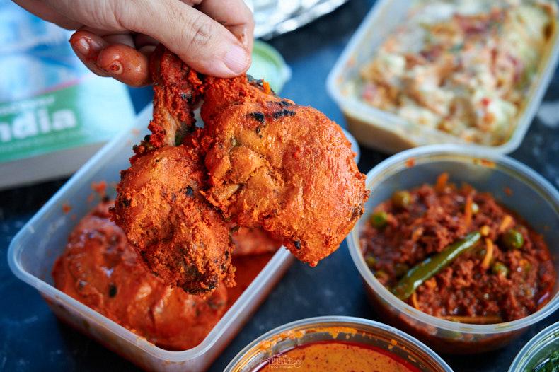 ไก่หมักโยเกิร์ต Tandoori Chicken
